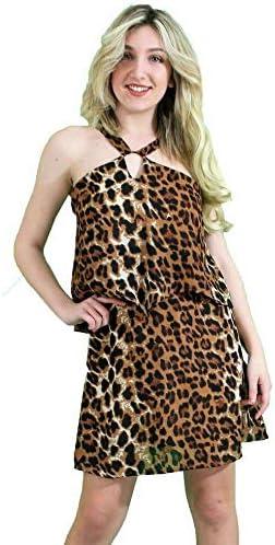 Abiti Eleganti Taglia 46.Moda Influencer Abito Donna La Riga Casual Elegante Maculato