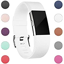 For Fitbit Charge 2 Bands, Adjustable Replacement Sport Strap Bands for Fitbit Charge 2 Smartwatch Fitness Wristband