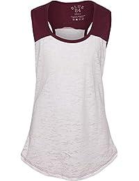 af6987da0e1 Amazon.com  Reds - Tanks   Camis   Tops   Tees  Clothing
