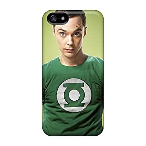 Durable Protector Case Cover With Big Bang Theory Sheldon Hot Design For Iphone 5/5s BY icecream design