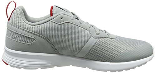 Pewter Homme Flyer White Gris Reebok Excellent Running Foster Red de Chaussures Baseball Grey 75wpqX