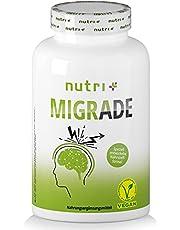 Migrade 100 kapslar - Alternativ till migräntabletter - Näringsformel utvecklad av näringsläkare med B2-vitamin för energiomsättning