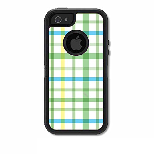 Skins Kit for OtterBox Defender Case for iPhone 5 or 5S (skins/decals only) - Popsicles on pastel, icees, summer