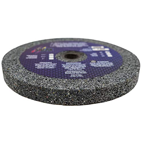 Shark 2010    5-Inch by 0.5-Inch by 0.5-Inch Bench Seat Grinding Wheel with Grit-46