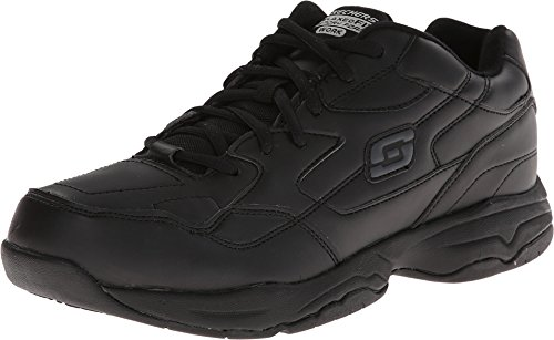 Skechers for Women's Work Albie Walking Shoe, Black, 10 M US
