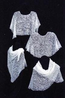 - Crocheted Cobweb Capelets & Shawls Pattern (AC-31)