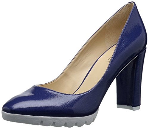 Nine West Edrica Synthetic Kleid Pump Dark Blue