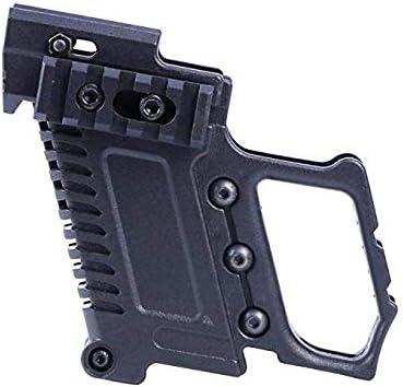 Gexgune Kit de carabinas de Pistola táctica Recarga rápida para Equipos de Carga Glock G17 G18 G19 Series (2 colros Opcionales)