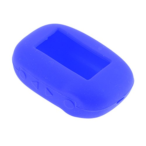 Dovewill Two Way Car Alarm Remote Controller Case For Starline B92 B64 B62 B94   Blue