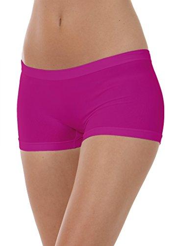 Ciclamino Pantaloncini intimo donna FOCENZA shorts donna culotte YxqwzPS