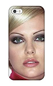 Aarooyner Scratch-free Phone Case For Iphone 5/5s- Retail Packaging - Charlize Theron 86 Celebrity Charlizetheron People Celebrity