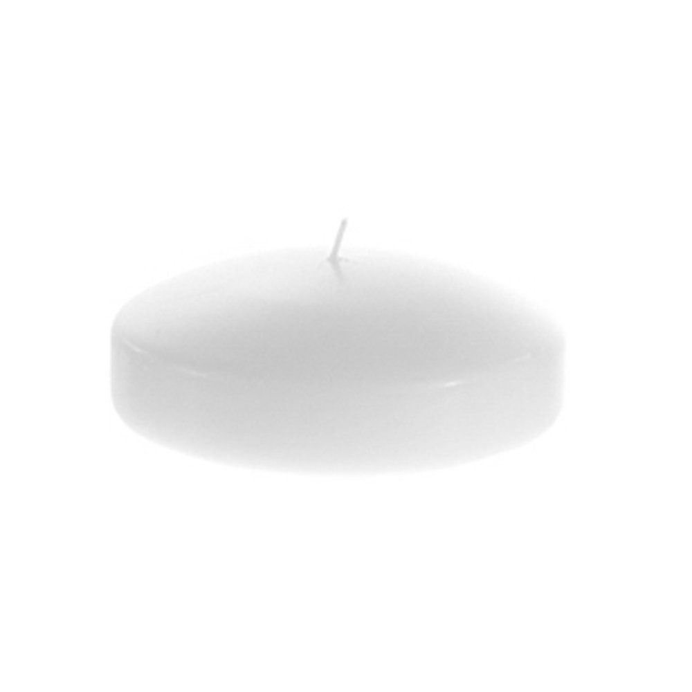 Mega Candles Pack of 72 Unscented 3'' Floating Disc Candle, White by Mega Candles (Image #2)