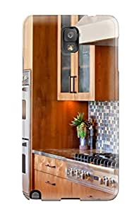 For Rjcenac1328hhjTp Contemporary Kitchen With Modern Cabinets And Appliances Protective Case Cover Skin/galaxy Note 3 Case Cover
