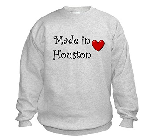 MADE IN HOUSTON - City-series - Light Grey Sweatshirt - size XXL]()