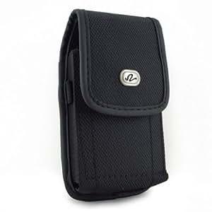 Black Vertical Heavy Duty Rugged Cover Belt Clip Side Case Pouch For ATT Samsung Galaxy S II Skyrocket SGH-I727