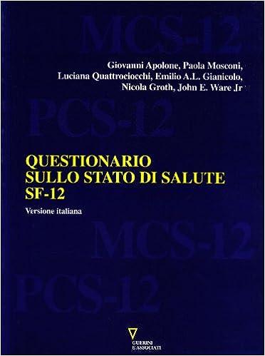 SF 12 ITALIANO PDF DOWNLOAD