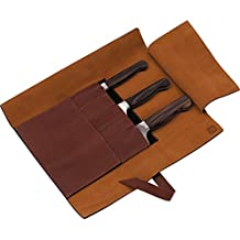 Henckels Twin 1731 - 4 Pc. Leather Roll Knife Set