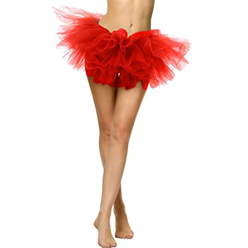 Slocyclub Adult Tutu Skirt Ladies Short Ballet Dance