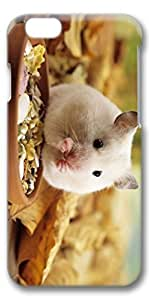 iphone 4s Case, Customized Slim Protective Hard 3D Case Cover for Apple iphone 4s- Eating Mice