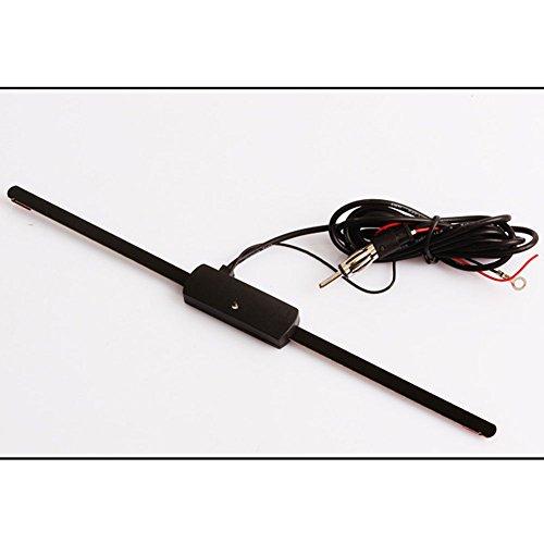 Tv Amplifier Wireless Listener (Sedeta Car radio stereo AM/FM antenna Amplified Window Mount Audio Antennas High Sensitivity)
