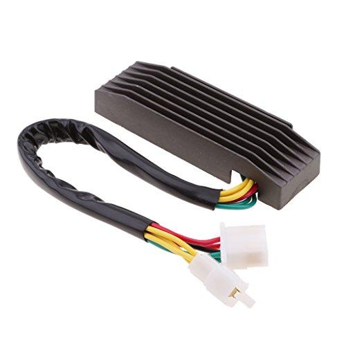 Dovewill Motor Electric Rectifier Regulator for Suzuki Intruder VS700 / VS750 / VS800 - Black by Dovewill