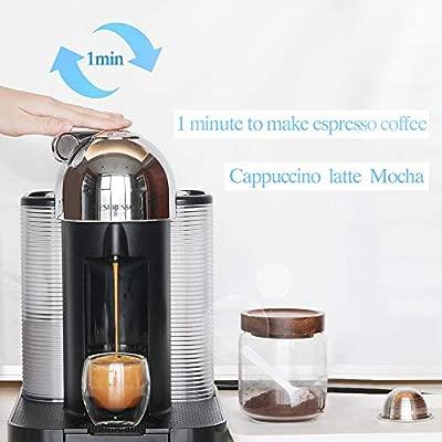 Weehey Cápsulas de Café Recargables Reutilizable Cápsula de ...
