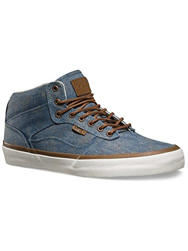 Vans Bedford Acid Denim Nero Mens Scarpe Da Skateboard Blu