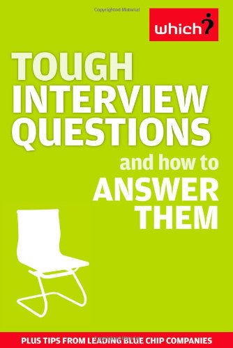 Tough Interview Questions and How to Answer Them ebook
