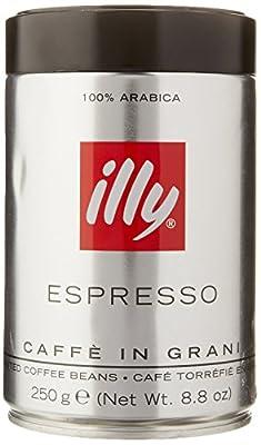 Illy Espresso Whole Bean Dark Roast 250g (2-pack)