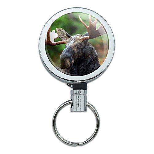 Metal Retractable Badge Holder Animals