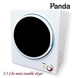 Panda Small Mini Stainless Steel Tumble Dryer