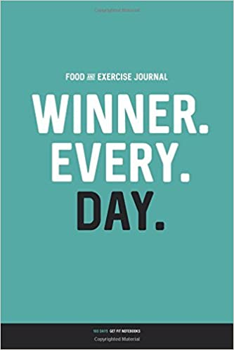 food and exercise journal winner every day daily food