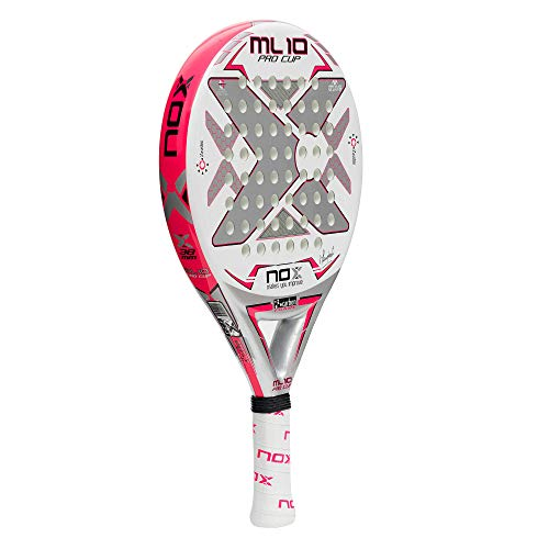 Amazon.com : NOX ML10 Pro Cup Silver Paddle Tennis Racket : Sports & Outdoors
