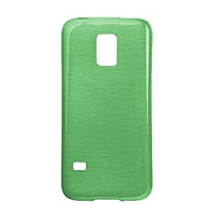 Funda Trasera Jelly Metal color Samsung N7505 Note 3 Neo verde