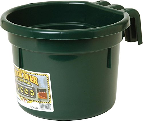 Miller CO Hook Over Feed Pail, 8 quart, Green by Miller