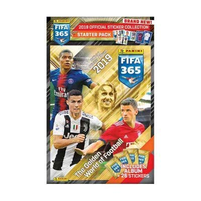 Album FIFA 365 2019 Panini Sticker Starter Pack