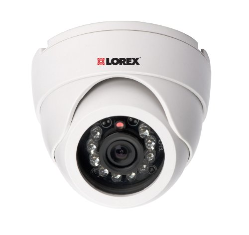 Lorex LDC6011 Vantage Super Resolution Indoor Night Vision Dome Security Camera (White)