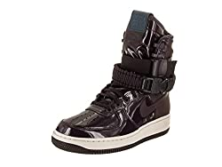 Nike Women's W Sf Af1 Se Prm Portwineportwinespaceblue Casual Shoe 8.5 Women Us