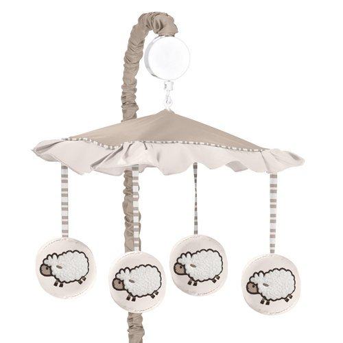Little Lamb Musical Baby Crib Mobile by Sweet Jojo Designs