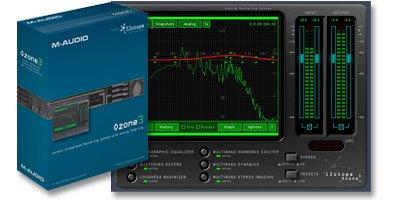 M-Audio Izotope Ozone 3 Mastering Suite Plug-Ins