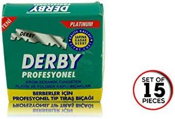 Cuchillas Derby Profesionales - Cuchillas de afeitar derby - Juego ...