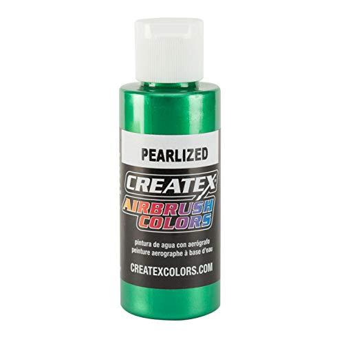 Createx 5305-02 Airbrush Paint, Pearl Green, 2 oz ()