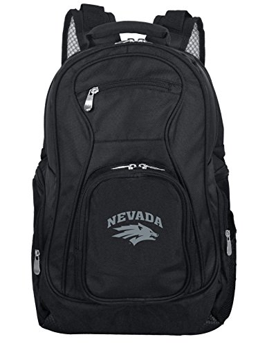 Denco NCAA Nevada Wolfpack Voyager Laptop Backpack, 19-inches