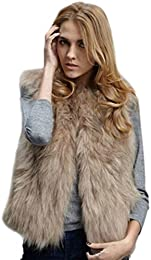 Amazon.com: XXL - Fur &amp Faux Fur / Coats Jackets &amp Vests