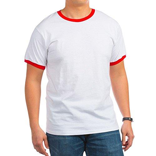 CafePress - Marines Logo T-Shirt - Ringer T-Shirt, 100% Cotton Ringed T-Shirt, Vintage Shirt
