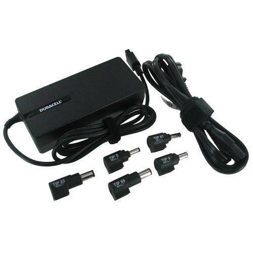 - Duracell 90 Watt Universal Computer Charger (DRAC90B)