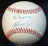 Ken Griffey Jr. and Ken Griffey Sr. Autographed Baseball - Jr & Dual Rawlings Oal! Ar Full Loa! - Autographed Baseballs