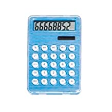 StealStreet 4231-BLUE Blue Solar and Battery Powered Calculator