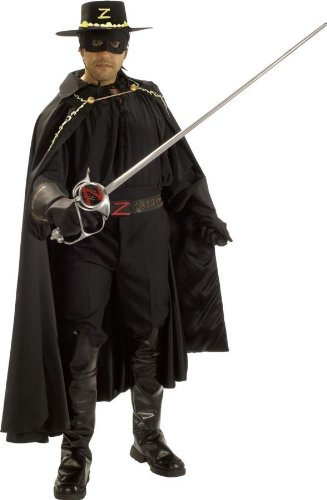 Grand Heritage Zorro Adult Costume - X-Large