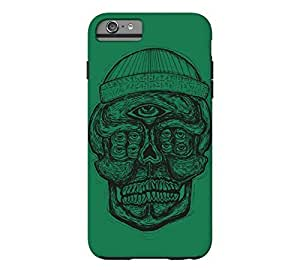 9 Eyed Skull iPhone 6 Plus Cadmium green Tough Phone Case - Design By FSKcase? by icecream design